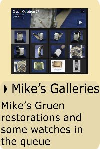 Mike's galleries of Gruen watches