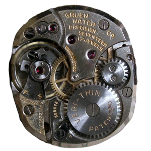 Gruen Caliber 430 Movement